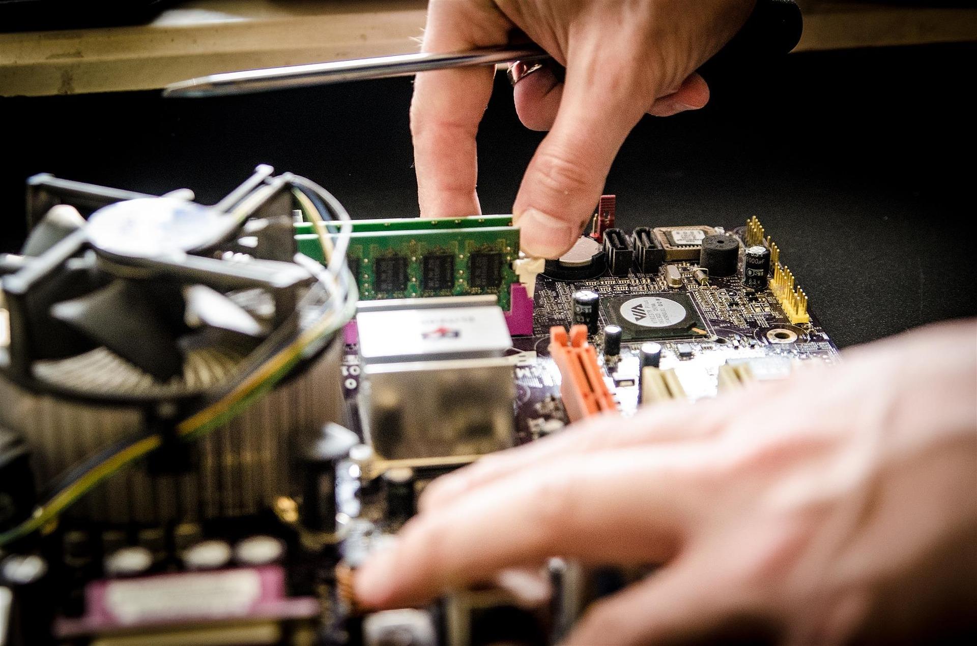 Montage ordinateur